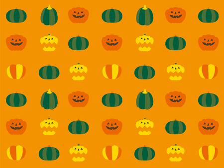 nights: halloween icons Illustration
