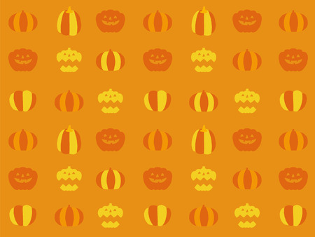 yearly: halloween icons Illustration