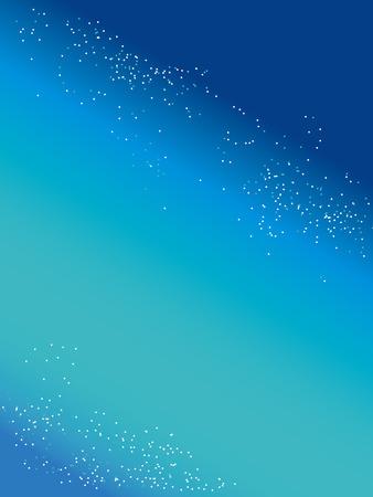 milkyway: starry sky Illustration
