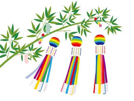 windsock: Japanese Sendai Tanabata Festival