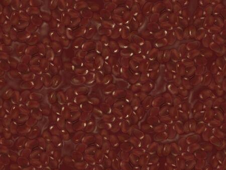 Texture of azuki beans Reklamní fotografie