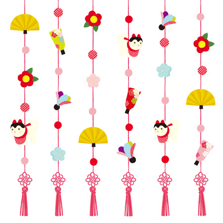hanging decoration for Japanese Doll Festival
