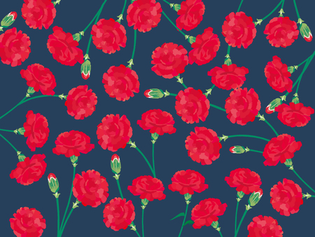 Carnation Mother's Day background.