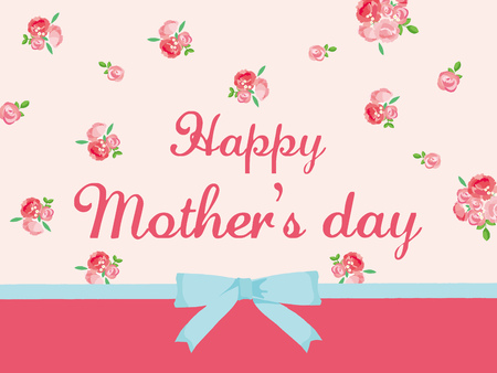 Mother's Day illustration Illustration