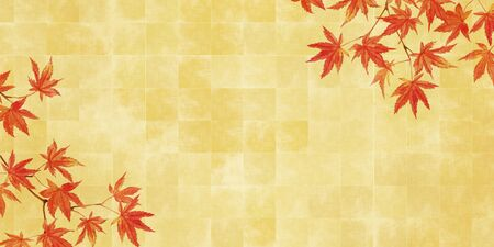 Maple and gold folding screen