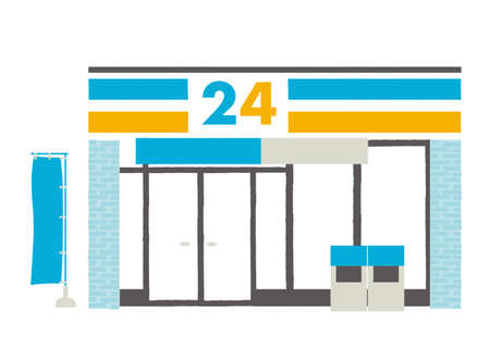 Convenience stores illustration