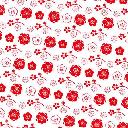 Ume pattern illustration