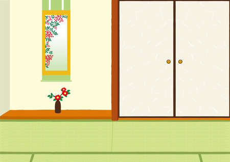 Japanese-style illustrations