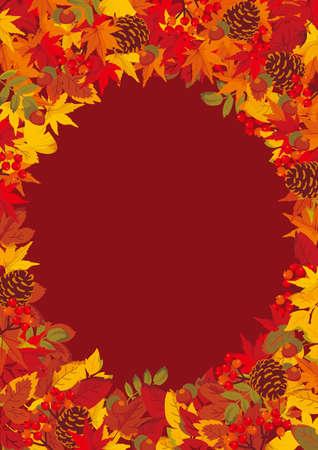 Autumn Background Frame