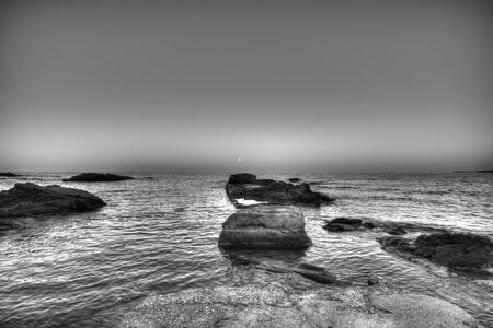 Rocks and sea  Beautiful waterscape in Bulgaria photo