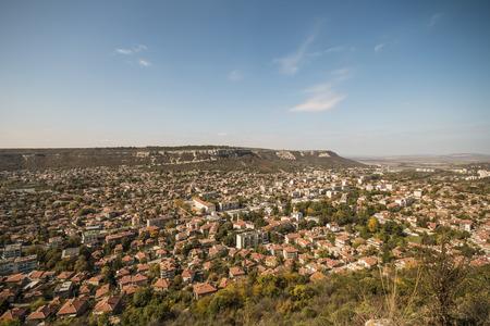 countrified: panoramic view of a big countrified town