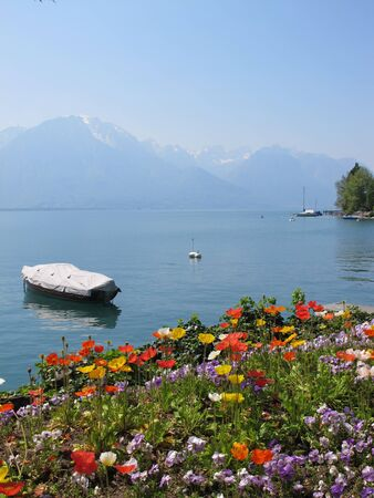 montreux: montreux in the spring