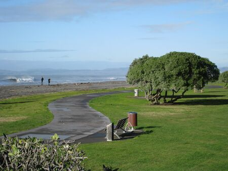 beach way in napier photo