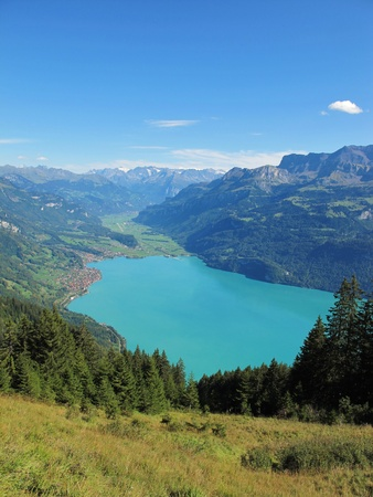 lake called brienzersee photo