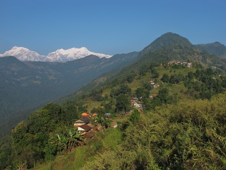 Nalma and Annapurna Range photo