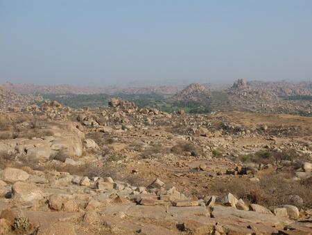 Granite mountains near Hampi, India