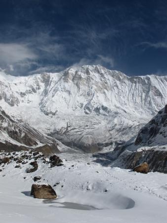 Khangsar Kang  Roc Noir , elevation 7485 m  photo