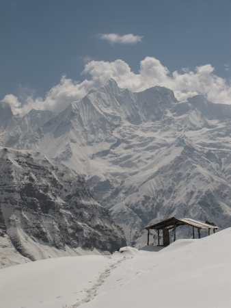 View from the Annapurna Base Camp