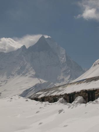 Annapurna Base Camp  Stock Photo - 13717909