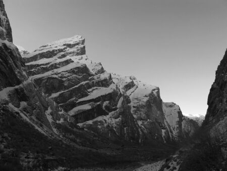 On the way to the Annapurna Base Camp photo