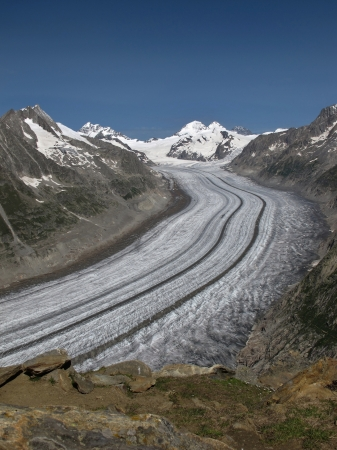 aletsch: Impressive Aletsch Glacier