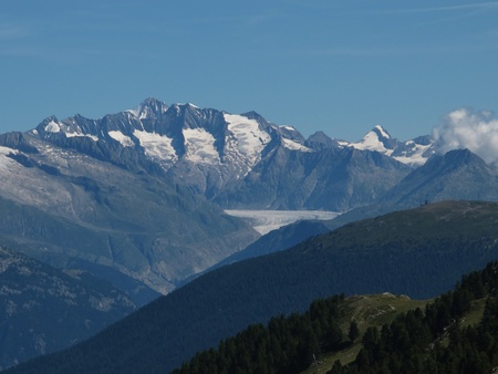 Scenery In The Canton Valais Stock Photo - 15193646