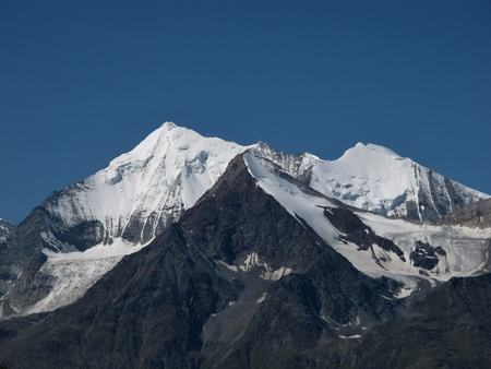 Beautiful Mountain Named Weisshorn, Alps Stock Photo - 15193652
