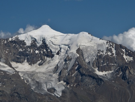 Beautiful Mountain Named Piz D Andolla Stock Photo - 15193649