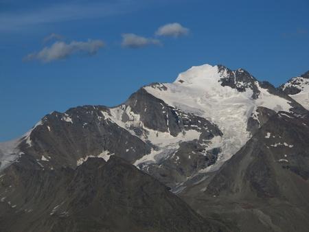 High Mountain Named Fletschhorn Stock Photo - 15193650