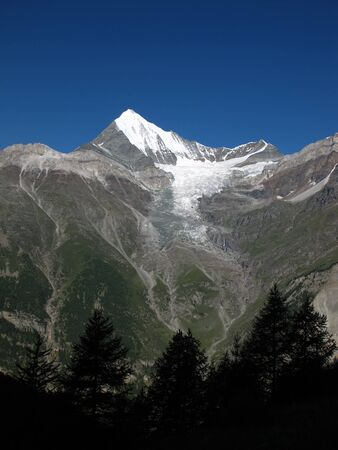 Weisshorn In The Early Morning Stock Photo - 15200804