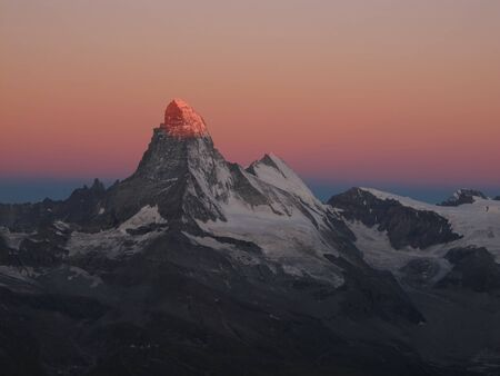Sunrise In Zermatt Stock Photo - 15013994