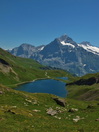 eiger: Eiger And Lake Bachalpsee