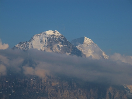 monch: Peaks Of The Eiger And Monch