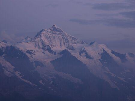 canton berne: Jungfrau After Sunset