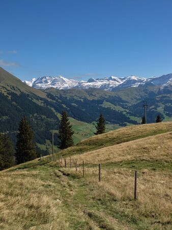 bernese oberland: View From The Wispile, Bernese Oberland Stock Photo