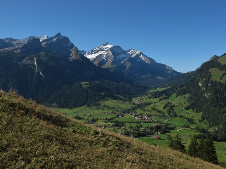 Gsteig Bei Gstaad In The Late Summer