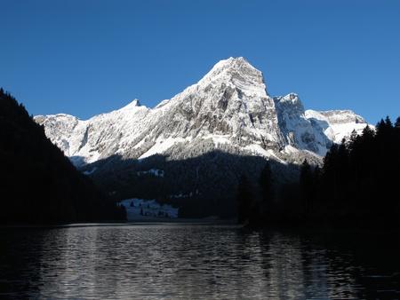 snow capped: Nevado Al Amanecer