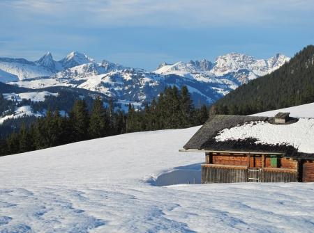oberland: Winter Scenery In The Bernese Oberland