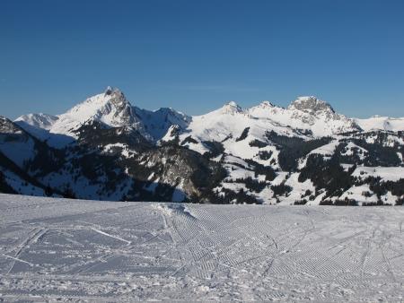saanenland: Mountains In The Saanenland, Gstaad