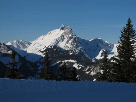 gstaad: Early Morning On The Wispile, Gstaad