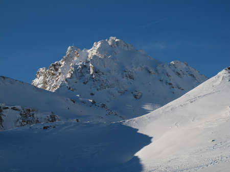 sargans: Beautiful Mountain Named Pizol, Winter