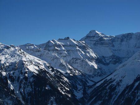 glarus: Majestic mountain in Glarus Canton