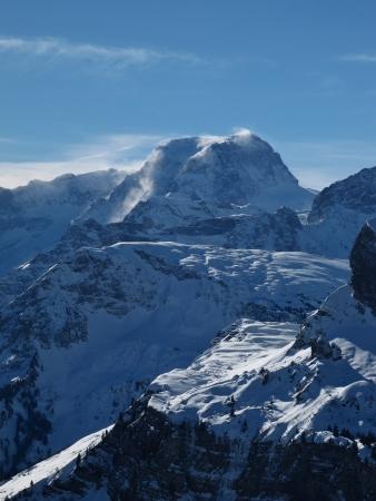 glarus: Toedi, highest mountain in Glarus Canton Stock Photo