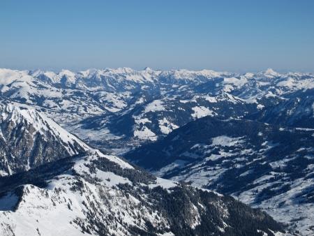 saanenland: View towards Gstaad, Saanenland