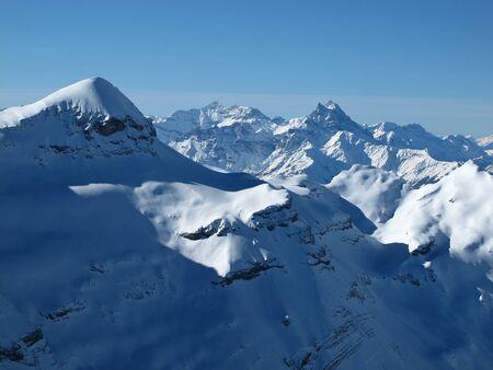 canton berne: Mt Blanc, view from Glacier de Diablerets
