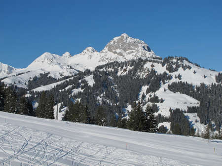 gstaad: Videmanette, mountain near Gstaad