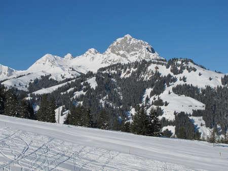 gstaad: Videmanette, mountain near Gstaad