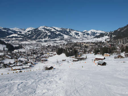 gstaad: Gstaad in the winter
