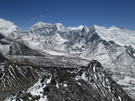 View from Chhukhung Ri photo