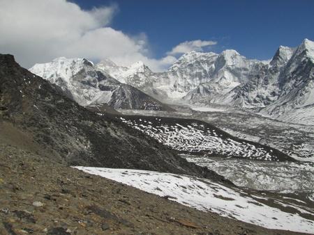 Island Peak, view from Chhukhung Ri photo